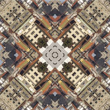 Kaleidoscope, square, texture, pattern, symmetry, background, abstract, wallpaper, abstraction, textured, repetitive, geometric Royalty Free Stock Image