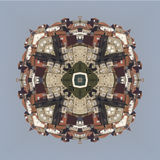 Kaleidoscope, square, texture, pattern, symmetry, background, abstract, wallpaper, abstraction, textured, repetitive, geometric, p Royalty Free Stock Photography