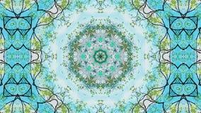Kaleidoscope summer abstract stock footage