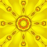 Kaleidoscope Sun Royalty Free Stock Photography