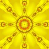 Kaleidoscope Sun vector illustration