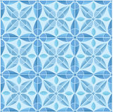 Kaleidoscope tile seamless pattern background Royalty Free Stock Images