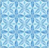 Kaleidoscope tile seamless pattern background Royalty Free Stock Images