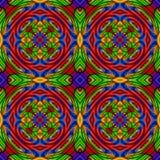 Kaleidoscope united colors Royalty Free Stock Photography
