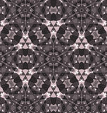 Kaleidoscope. Vector kaleidoscope pattern background, Abstract triangles background Royalty Free Stock Photo