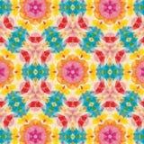 Kaleidoscope. Vector kaleidoscope pattern background, Abstract triangles background Stock Photos