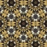 Kaleidoscope. Vector kaleidoscope pattern background, Abstract triangles background Stock Photo