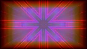 Kaleidoscope VJ loop stock footage