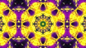 Kaleidoscope VJ loop stock video