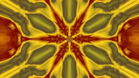 Kaleidoscope Volcanic. Volcanic looking widescreen kaleidoscope image Royalty Free Stock Image