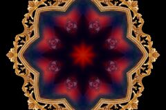 kaleidoscope (70) Royalty Free Stock Photo