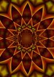kaleidoscopemodellreds arkivbild