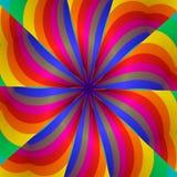 kaleidoscopereainbos Arkivfoton
