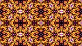 Kaleidoscopic άνευ ραφής βρόχος vj απόθεμα βίντεο