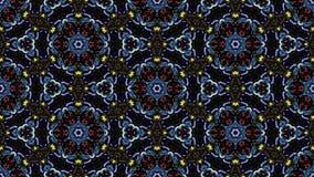 Kaleidoscopic άνευ ραφής βρόχος vj ελεύθερη απεικόνιση δικαιώματος
