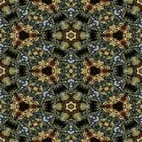 Kaleidoscopic διακοσμητικό σχέδιο Στοκ Εικόνα
