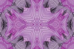 Kaleidoscopic ιώδες σχέδιο Στοκ φωτογραφίες με δικαίωμα ελεύθερης χρήσης