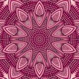 Kaleidoscopic κόκκινο σχέδιο Στοκ εικόνες με δικαίωμα ελεύθερης χρήσης