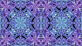 Kaleidoscopic παραγμένος άνευ ραφής βρόχος ελεύθερη απεικόνιση δικαιώματος