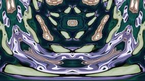 Kaleidoscopic παραγμένος άνευ ραφής βρόχος διανυσματική απεικόνιση