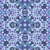 Kaleidoscopic πολύχρωμη άνευ ραφής αφηρημένη σύσταση mandala απεικόνιση αποθεμάτων