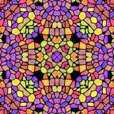 Kaleidoscopic πολύχρωμο αφηρημένο σχέδιο ελεύθερη απεικόνιση δικαιώματος