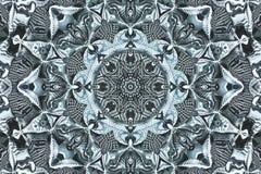 kaleidoscopic πρότυπο Στοκ Εικόνα