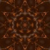 Kaleidoscopic συνθετικό υπόβαθρο τέχνης κύκλων, σύνθετη γεωμετρία Στοκ εικόνα με δικαίωμα ελεύθερης χρήσης