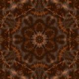 Kaleidoscopic συνθετικό υπόβαθρο τέχνης κύκλων, σύνθετη γεωμετρία Στοκ Φωτογραφίες