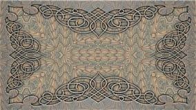 Kaleidoscopic σχέδια στους μπεζ τόνους, εικόνα ράστερ για το desi Στοκ Φωτογραφία