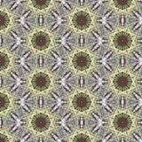 Kaleidoscopic абстрактная безшовная картина Стоковая Фотография