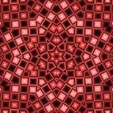 Kaleidoscopic абстрактная, коричневый, шотландка, предпосылка Стоковое фото RF