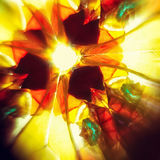 Kaleidoscopic картина Стоковое Изображение RF