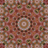 Kaleidoscopic обои Стоковое Фото