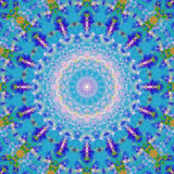 Kaleidoscopic орнамент Стоковое Изображение RF