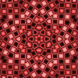 Kaleidoscopic abstract, brown, plaid, background Royalty Free Stock Photo