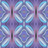 Kaleidoscopic abstract seamless pattern. Modern stylish texture. Textile fabric print. Wrapping paper. Abstract continuous ornamen Stock Photo