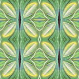 Kaleidoscopic abstract seamless pattern. Modern stylish texture. Textile fabric print. Wrapping paper. Abstract continuous ornamen Stock Photography