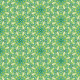 Kaleidoscopic abstract seamless pattern stock images