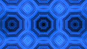 Kaleidoscopic animation background. VJ Fractal blue kaleidoscopic background. Background motion with fractal design. Disco spectrum lights concert spot bulb stock video footage