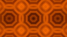 Kaleidoscopic animation background. VJ Fractal orange kaleidoscopic background. Background motion with fractal design. Disco spectrum lights concert spot bulb stock video footage
