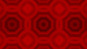 Kaleidoscopic animation background. VJ Fractal red kaleidoscopic background. Background motion with fractal design. Disco spectrum lights concert spot bulb stock footage