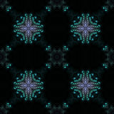 Kaleidoscopic background. Abstract kaleidoscopic background as infinite seamless pattern Stock Images