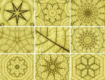 Kaleidoscopic backgrounds Royalty Free Stock Image