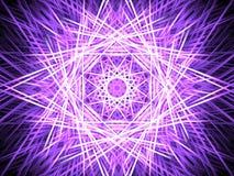 Kaleidoscopic bakgrund för neon Royaltyfria Bilder