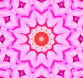 kaleidoscopic bakgrundsblomma Arkivbilder