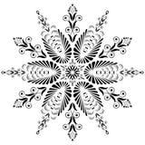 Kaleidoscopic blom- mönstrar. Mandala Arkivbilder