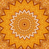 Kaleidoscopic Corn ear Royalty Free Stock Photo