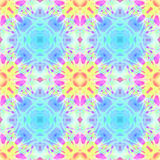 Kaleidoscopic design abstract ornament seamless texture Royalty Free Stock Photos