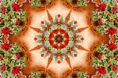 Kaleidoscopic design. Stock Image